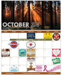 2019 October Calendar Fun Workplace Holidays Calendar October Holidays Successories