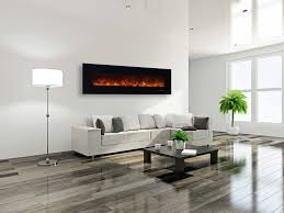 wall electric fireplace contemporary wall mount