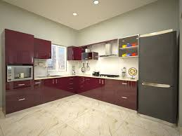 Small Picture Indian Modular Kitchen Designs Condor Spacious U Shaped