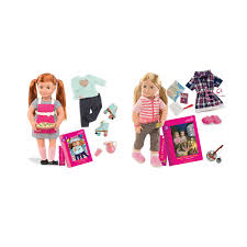 our generation deluxe shannon or noa doll assorted kmart