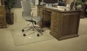 benefits of using a glass chair mat