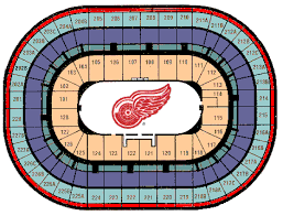 Detroit Red Wings Stadium Seating Chart Seating Chart Pretty Ideas Joe Louis Arena Detroit Red