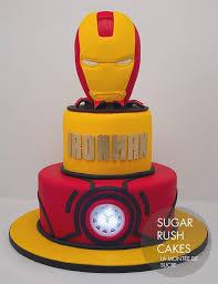 Diy Avengers Birthday Cake Cutebirthdaycakega