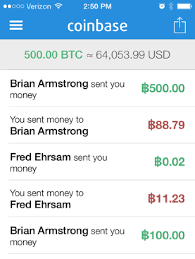 Sending bitcoin from your coinbase account to your electrum wallet is extremely easy. Coinbase Launches Ios App To Buy Sell And Send Bitcoin Coindesk