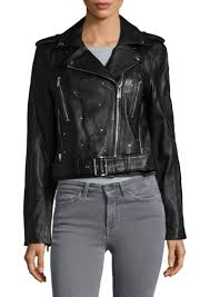 sam edelman studded leather moto jacket