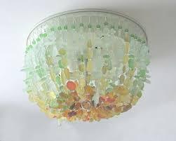 chandelier sea glass chandelier beach light fixtures have to do with sea glass chandelier