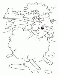 Small Picture Lost Sheep Coloring Page Coloring Home