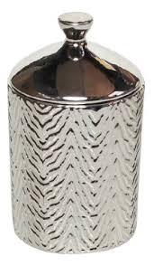<b>Ароматическая свеча</b> White Tea & Mint Zebra Textured 439г
