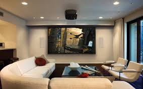 ... Private Living Room Home Theater Ideas With Nice Wndow For Fresh Air:  ...