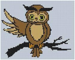 Owl Cross Stitch Pattern Classy Easy Owl Cross Stitch Pattern Advanced Cross Stitch