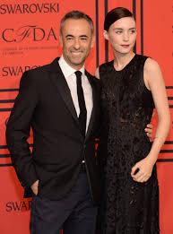 Klein Designer Rooney Mara Posed With Calvin Klein Designer Francisco Costa