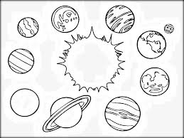 Small Picture Cute Solar System Coloring Pages Solar System Coloring Pages Image