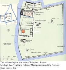 hanging gardens—herodotusmap of babylon showing outer city wall