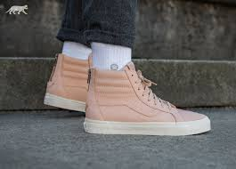vans premium leather sk8 hi reissue zip