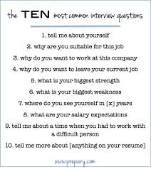 How To Answer The Most Common Interview Questions Job Prep