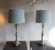 white and silver table lamps silver and gold table lamps silver and glass table