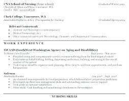 Example Of A Cna Resume Certified Nursing Assistant Experienced ...