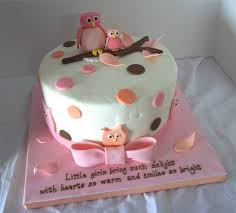 Beautiful Baby Shower Cakes For Girls To Make  Home Decor And Owl Baby Shower Cakes For A Girl