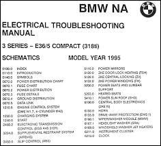 1995 bmw 318ti electrical troubleshooting manual this manual covers us and canadian 1995 bmw 318ti models this book is in good used condition measures 11 in x 8 5 in and is 3 5 in thick