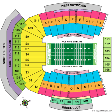 Vaught Hemingway Stadium Seating Chart