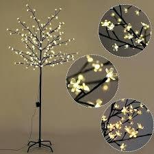 led tree lamp led tree lamps cherry blossom led tree light floor lamp holiday decor warm led tree lamp