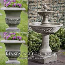 tiered outdoor water fountains kinsey