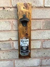 wall mounted bottle opener reclaimed