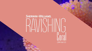 Coral Reef Paint Color September 2016 Color Of The Month Ravishing Coral Sherwin