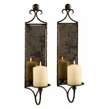 interior mirrored candle sconce mirror photo al jefney wall sconces oil alluring silver mosaic holder mirrored