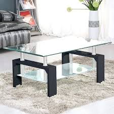glass coffee table designer glass furniture 3 piece coffee table set under coffee table glass