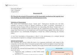 describe the concept of homeostasis and the homeostatic mechanisms document image preview