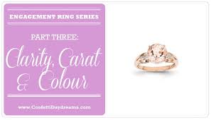 Diamond Clarity Guide Engagement Ring Clarity Colour Carat