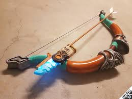 Light Bow Botw Finished My 3d Printed Travelers Bow And Ancient Arrow From