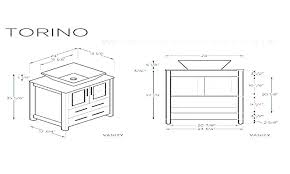 standard bathroom vanity sizes standard vanity dimensions stunning vanity cabinet size chart office chairs mississauga
