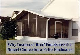 why insulated roof panels are the smart