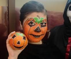 makeup pumpkin