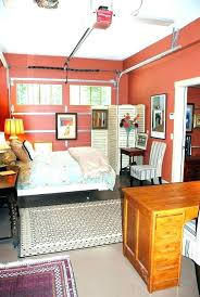 cost of converting a one car garage into bedroom converting a garage into a bedroom and