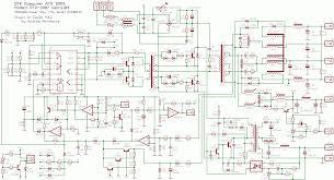 at and atx pc computer supplies schematics ATX Motherboard Diagram at Bestec Atx 300 12e Wiring Diagram
