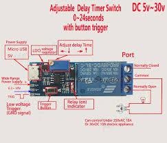 details about dc 5v 12v 24v adjustable trigger delay time switch details about dc 5v 12v 24v adjustable trigger delay time switch timer board relay module car cars business and industrial