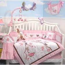 soho love bird crib nursery bedding set 14 pcs