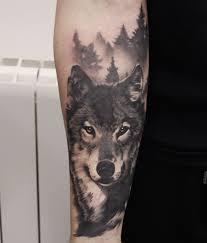 Wolf Tattoo тату татуировка волк татуировки и татуировка рука