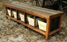 rustic entryway bench with storage. Diy Rustic Storage Bench Entryway Pictures Ideas Design And Decor With Regard To House