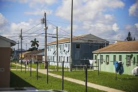 the liberty square projects are located in the city of miami but owned by the county