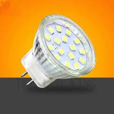 1 <b>10x LED</b> GU4 MR11 <b>Led</b> Bulb 7W 12V Beam Angle 24 120 ...