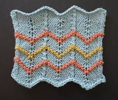 Chevron Knitting Pattern Inspiration Chevron Stitch Patterns