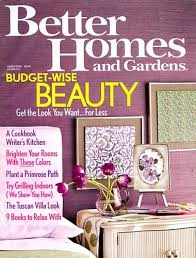 Small Picture Better Homes Gardens Amazoncom Magazines