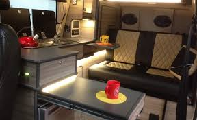 WUDWURX JOINERY VW CAMPER VAN CONVERSION YORKSHIRECAMPER Awesome Van Interior Design Interior