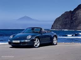 PORSCHE 911 Carrera 4S Cabriolet (997) specs - 2005, 2006, 2007 ...