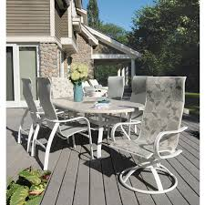 faux granite outdoor dining table. homecrest holly hill 7 piece oval patio dining set faux granite outdoor table a