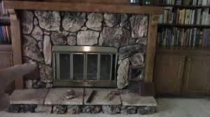 removing an old heatilator fireplace